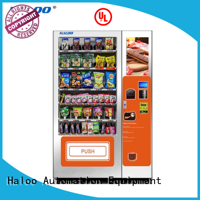 HL-DLY-10C   21.5 inches ads screen drink snack vending machine