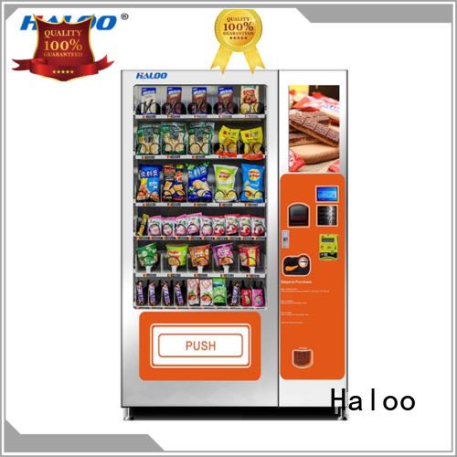 coffee vending machine design for drink Haloo
