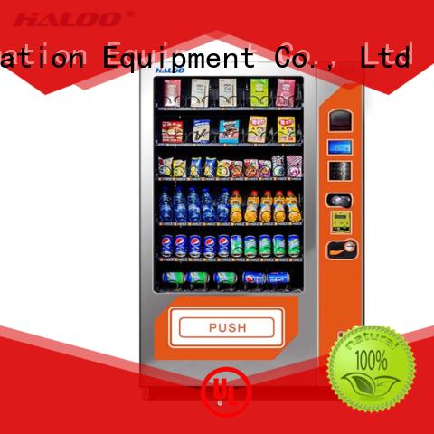Haloo high quality coffee vending machine design for food