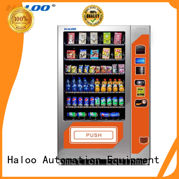 Haloo chocolate vending machine factory direct supply for food