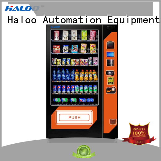 Haloo cold drink vending machine customized for drink