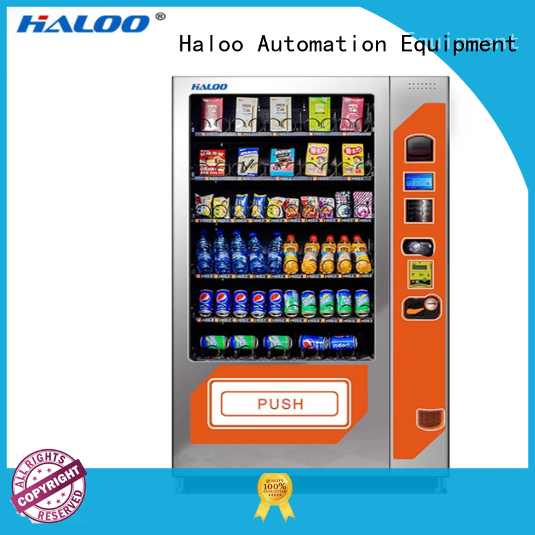 soft drink vending machine for snack Haloo
