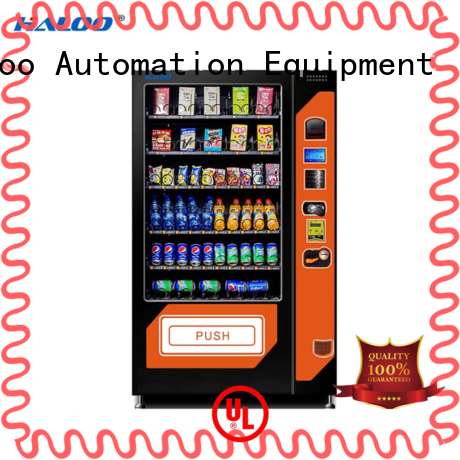 Haloo anti-theft beverage vending machine factory direct supply for food