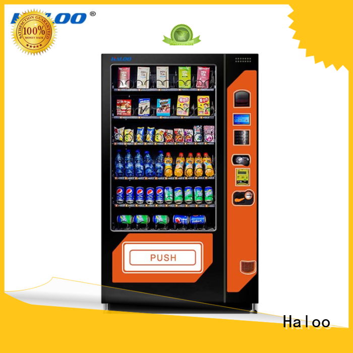 Haloo chocolate vending machine design for drink
