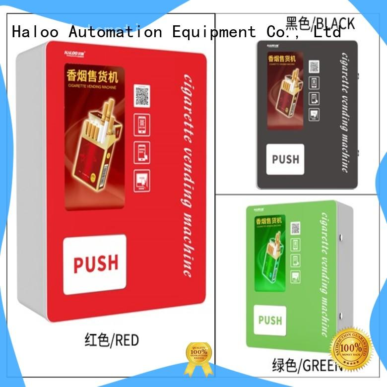 Haloo high capacity cigarette vending machine manufacturer for purchase