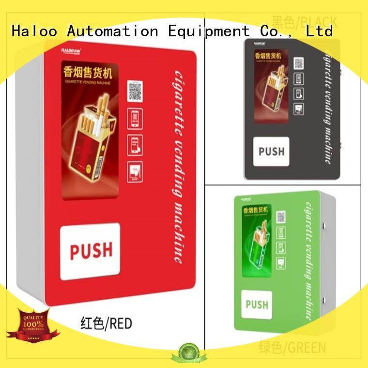 Haloo robot vending machine customized for lucky box gift