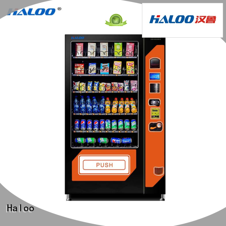 combo vending machines wholesale for drink Haloo